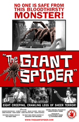 The Giant Spider poster Saint Euphoria Pictures 2013