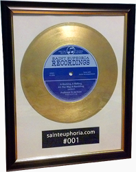 A-Rockin', A-Rollin', All-The-Way-A-Ramblin' Framed 'Gold' Record