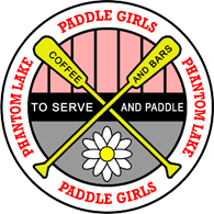 The Giant Spider - Phantom Lake Paddle Girls Patch